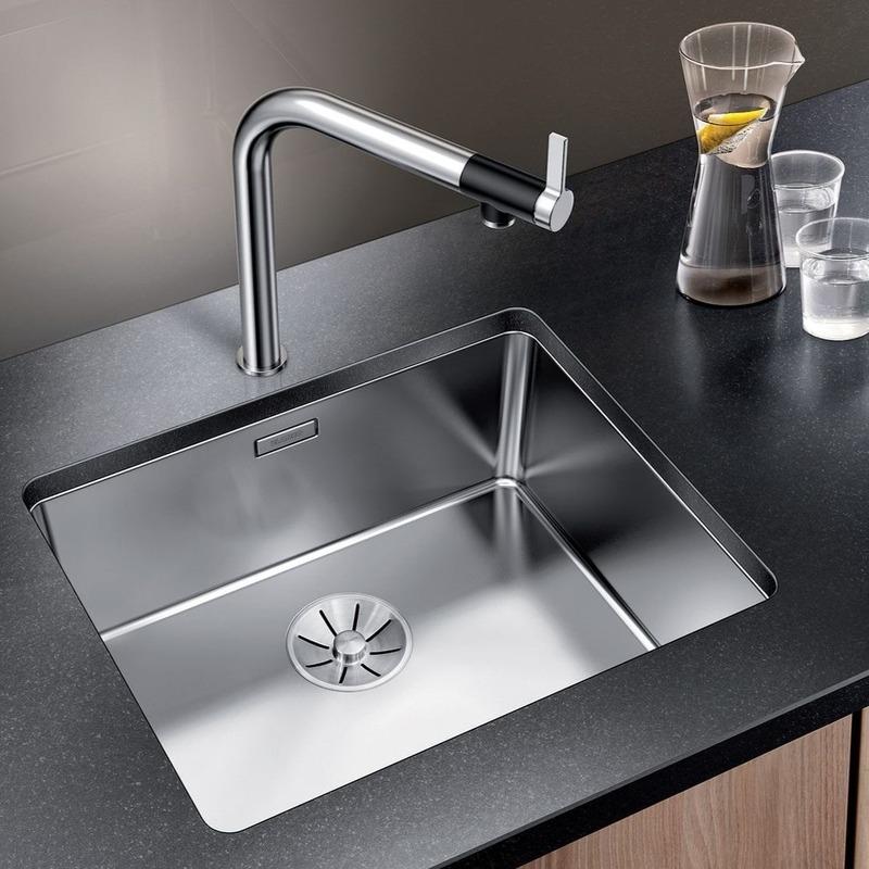 Кухонная мойка Blanco Andano 500-U (зеркальная полировка, без клапана-автомата)