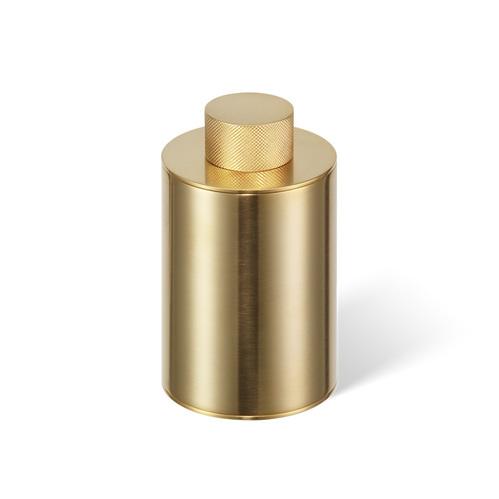 Decor Walther Club BMD3 Баночка универсальная 11.6x6.75см, с крышкой, цвет: золото матовое