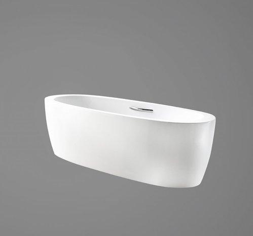 Акриловая ванна в комплекте со сливом-переливом, модель BB43-1800