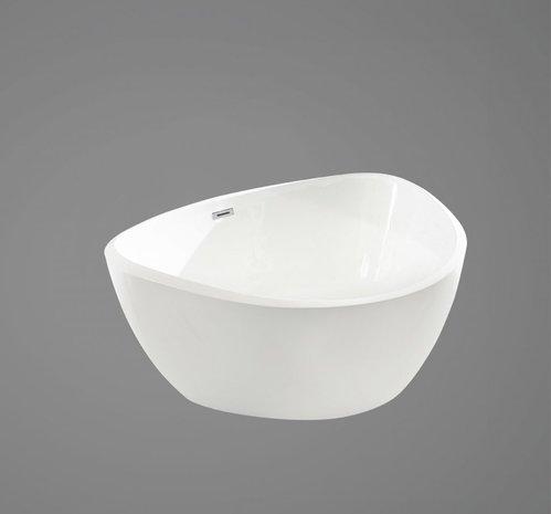 Акриловая ванна в комплекте со сливом-переливом, модель BB47-1500