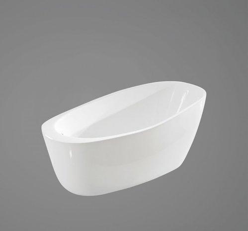 Акриловая ванна в комплекте со сливом-переливом, модель BB50-1700