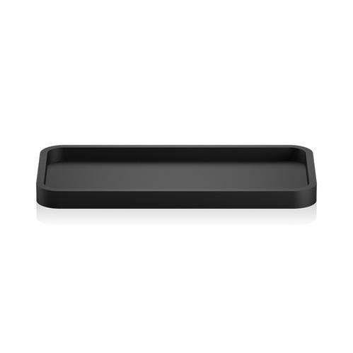 Decor Walther Black Stone Tab Лоток универсальный 30x14.5см, цвет: черный матовый