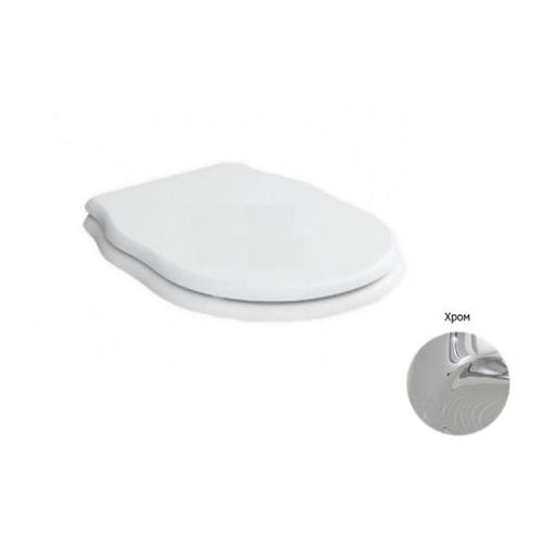 Крышка-сиденье BelBagno Boheme с микролифтом (крепления хром)