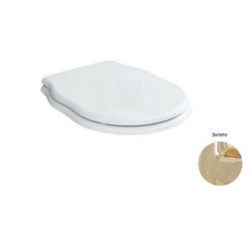 Крышка-сиденье BelBagno Boheme с микролифтом (крепления золото)