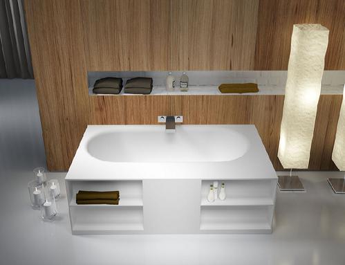 Ванна каменная Riho Burgos из Solid Surface 180*102