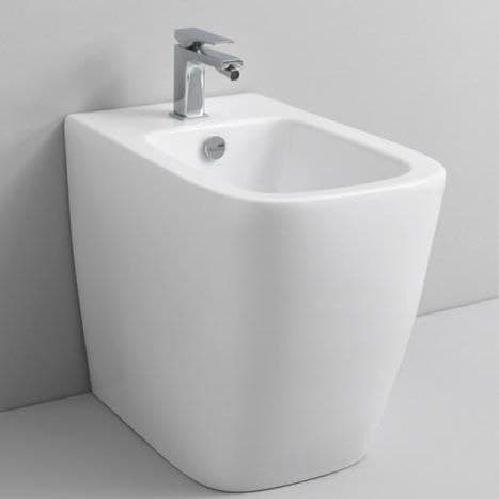Биде напольное ArtCeram A16 36х52,5 см, 1 отверстие, цвет белый