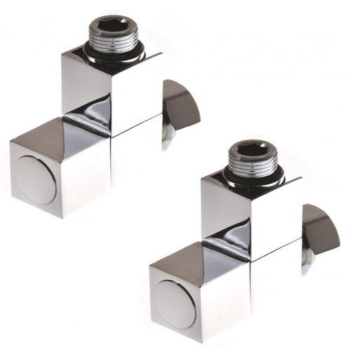 """Комплект для подключения П/С Stinox, с квадратными вентилем, 3/4"""" x 1/2"""" (2 шт.)"""