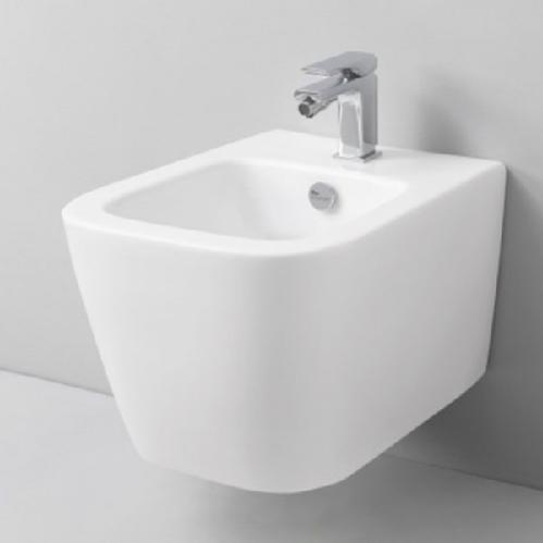 Биде подвесное ArtCeram MINI A16 36х45.5 см, 1 отверстие, цвет белый