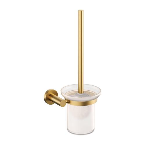 Ершик для унитаза Omnires MODERN PROJECT , брашированное золото