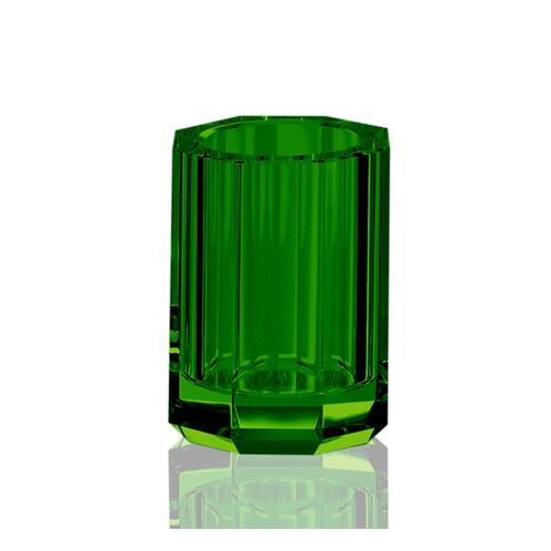 Decor Walther Kristall BER Стакан настольный, хрустальное стекло, цвет: английский зеленый