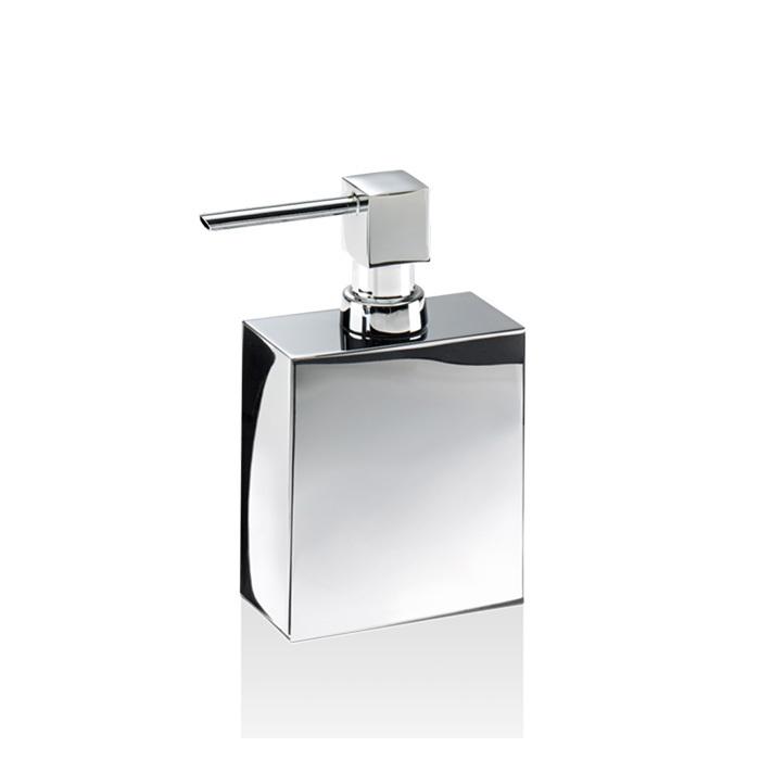 Decor Walther Cube DW 470 Дозатор для мыла, настольный, цвет: хром
