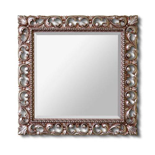 Зеркало Caprigo 100х100 (античное серебро)