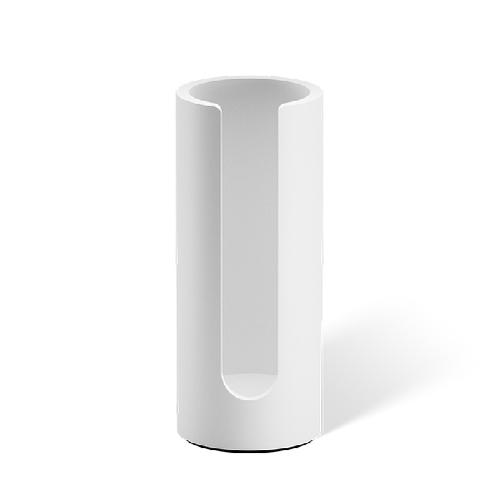 Decor Walther Stone WPB Дозатор ватных дисков, настольный, цвет: белый