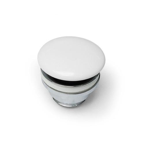 Донный клапан Artceram для раковин универсальный, Cliсk-Claсk, покрытие керамика, цвет белый