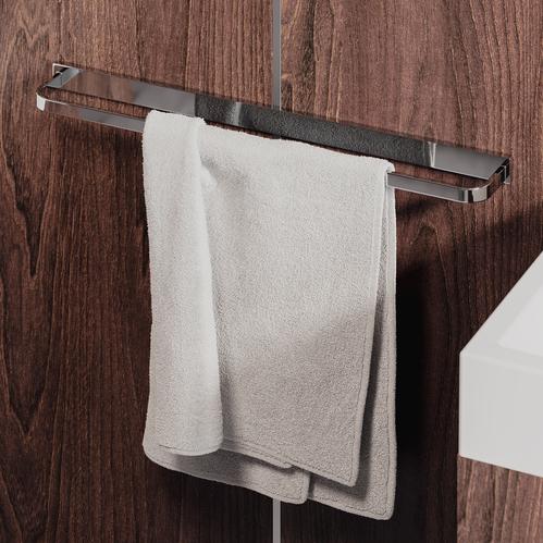 Omnires Lugano Вешалка для полотенца, 61 cм, хром