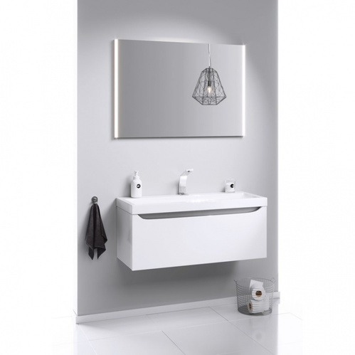 """""""SM 80"""" зеркальное полотно с подсветкой, ТМ «AQWELLA» 80 см"""