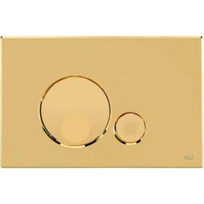 Кнопка смыва механическая OLI Globe золото