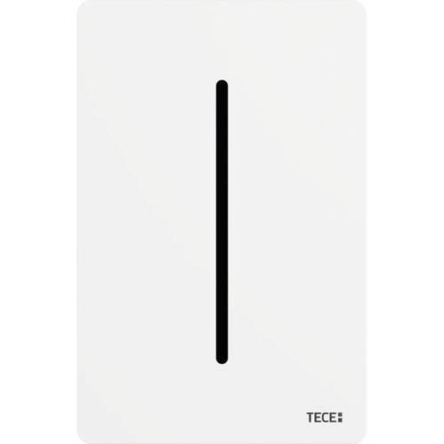 Панель смыва писсуара из нержавеющей стали, питание от сети 7,2 В белый глянцевый TECEfilo-Solid