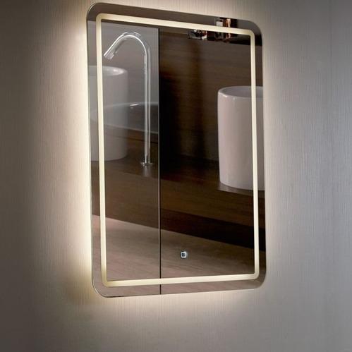 Зеркало Esbano, с подсветкой, с подогревом, сенсорный выключатель