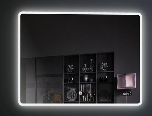 Зеркало Esbano 100х80, с подсветкой, с подогревом, сенсорный выключатель