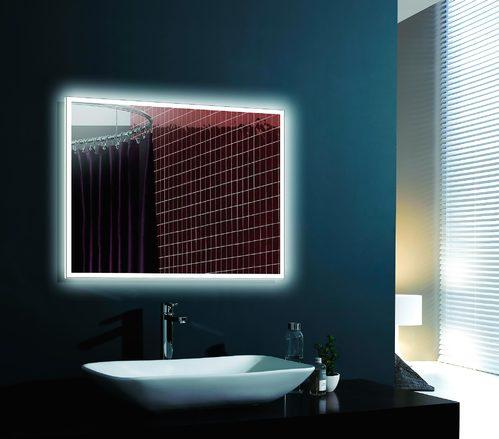 Зеркало Esbano 100х80, с подсветкой, с подогревом, ИК-выключатель
