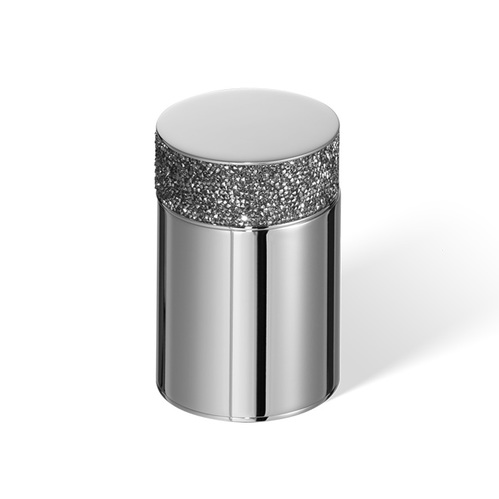 Decor Walther Rocks BMD1 Баночка универсальная, с кристаллами Swarovski, цвет: хром