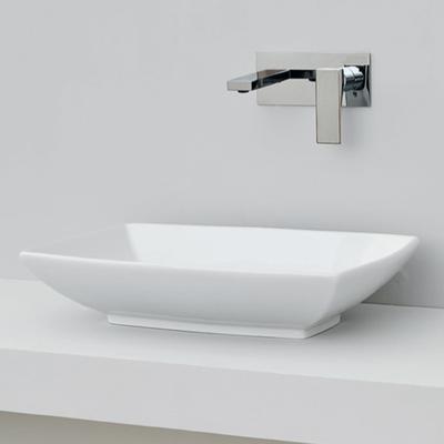 Раковина накладная Artceram JAZZ 60х40см, цвет белый матовый