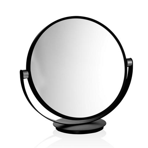 Decor Walther Club Vanity Косметическое зеркало 43см, настольное, увел. 5x,  черный матовый / хром