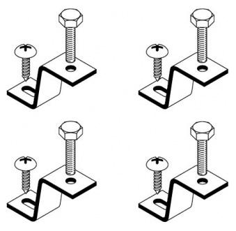 Крепеж для раковины для встраивания раковины снизу  Laufen Pro