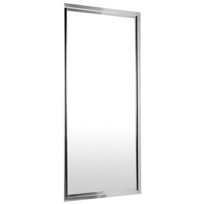 Распашные двери в нишу Deante Flex, стекло прозрачное