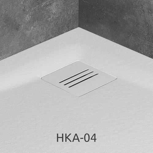 Душевой поддон Radaway Kyntos A, H-3 см, R-55 см, литой мрамор