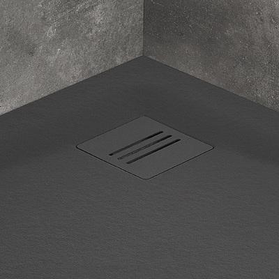 Решетка для поддона RADAWAY Kyntos antracite, 13x13 см