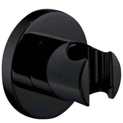 Точечный держатель для ручного душа Omnires, черный