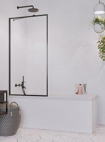 Шторка на ванну Radaway Idea Black PNJ 90x150