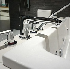 Смеситель для ванны Hansgrohe Metris, хром