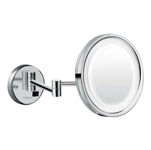 Настенное косметическое зеркало Hansgrohe Logis Universal  с LED подсветкой