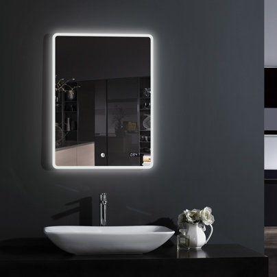 Зеркало Esbano с подсветкой 50х70 С ПОДОГРЕВОМ