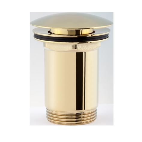 Пробка для сифона умывальника click-clack Omnires, золото