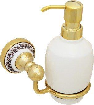 Дозатор для мыла Fixsen Bogema Gold