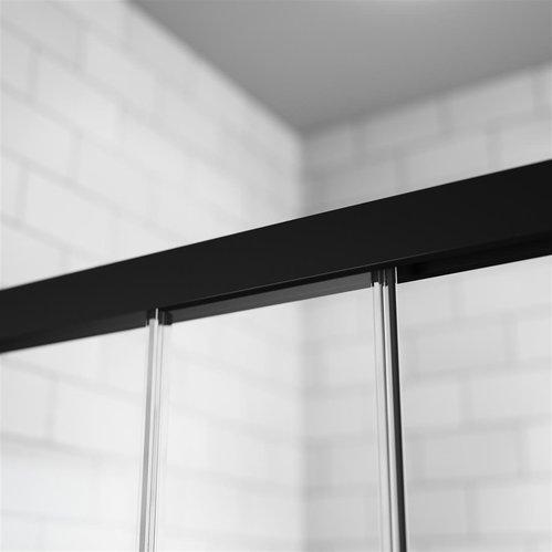 Душевой уголок Radaway Idea KDJ, H-200 см цвет профиля черный