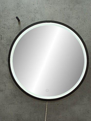 Зеркало Континент Style Black LED D600
