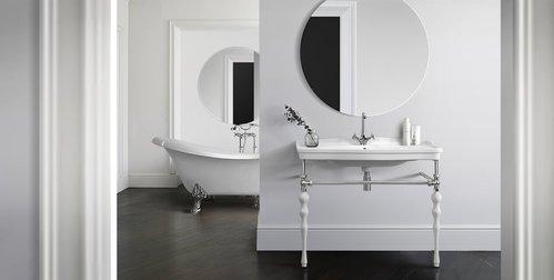Зеркало Белюкс Консул В 105 (1) Белый глянец