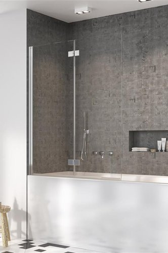 Душевая шторка на ванну Radaway Nes PND I, H-150 см