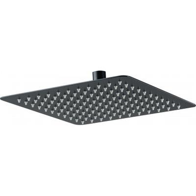 Верхний душ стальной квадратный DEANTE CASCADA NERO FLOX 300*300 мм, черный