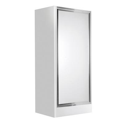 Распашные двери в нишу Deante Flex, стекло матовое