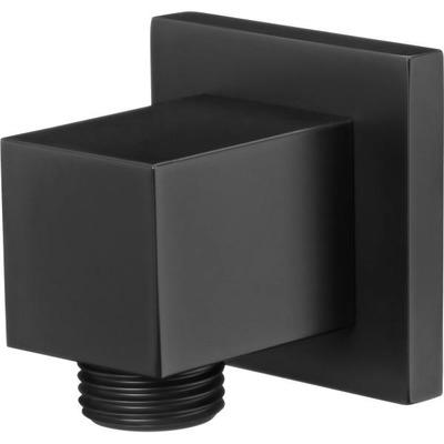 Подключение для шланга квадратный DEANTE CASCADA, черный