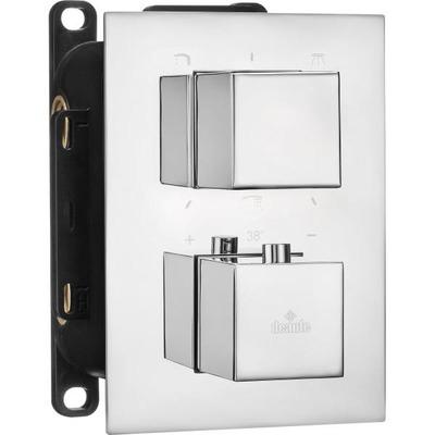 Накладка к боксу термостатическому квадратный DEANTE BOX, хром