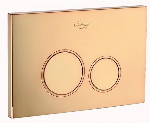 Кнопка для инсталляции Boheme золото пластик