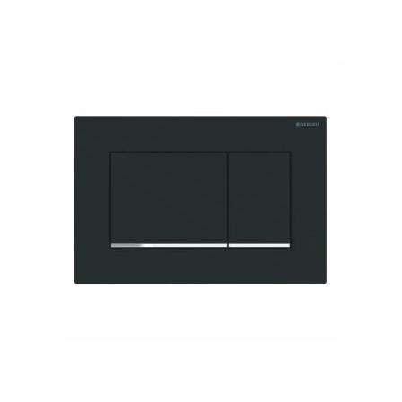 Клавиша Geberit Sigma Type 30черный/хром матовый (не оставляет отпечатки пальцев)