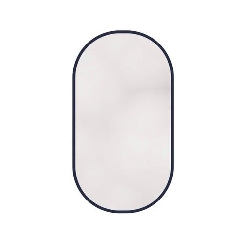 Caprigo Контур Зеркало овальное без подсветки 100х55 черный профиль